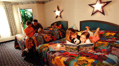 Holidays in Disney's All-Star Movies Resort by TailorMadeFlorida.com