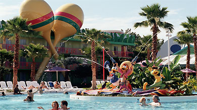 Holidays in Disney's All-Star Music Resort by TailorMadeFlorida.com