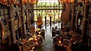 Holidays in Disney's Animal Kingdom Lodge by TailorMadeFlorida.com
