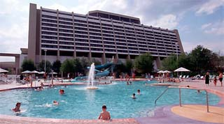 Holidays in Disney's Contemporary Resort by TailorMadeFlorida.com