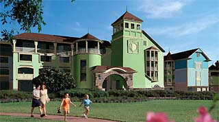 Holidays in Disney's Saratoga Springs Resort by TailorMadeFlorida.com